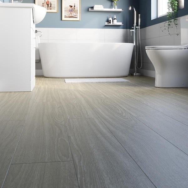 Rondeau natural oak laminate flooring 8mm