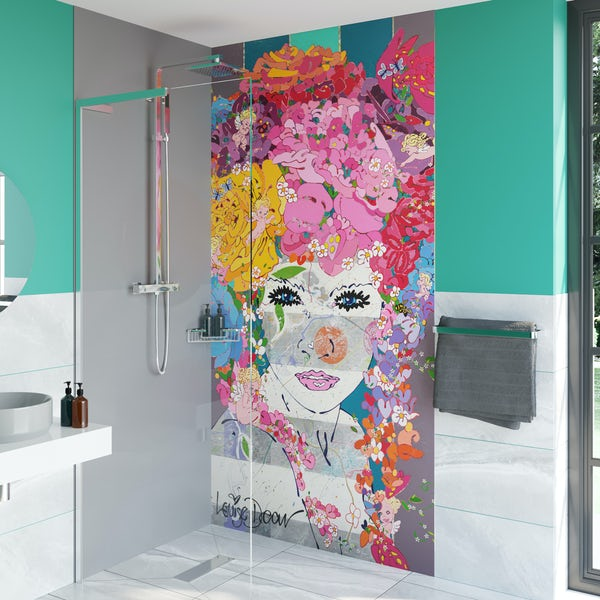 Louise Dear The Serenade acrylic shower wall panel 2440 x 1220mm