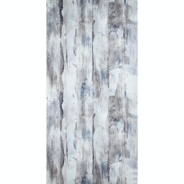 Showerwall Nautical Wood waterproof shower wall panel