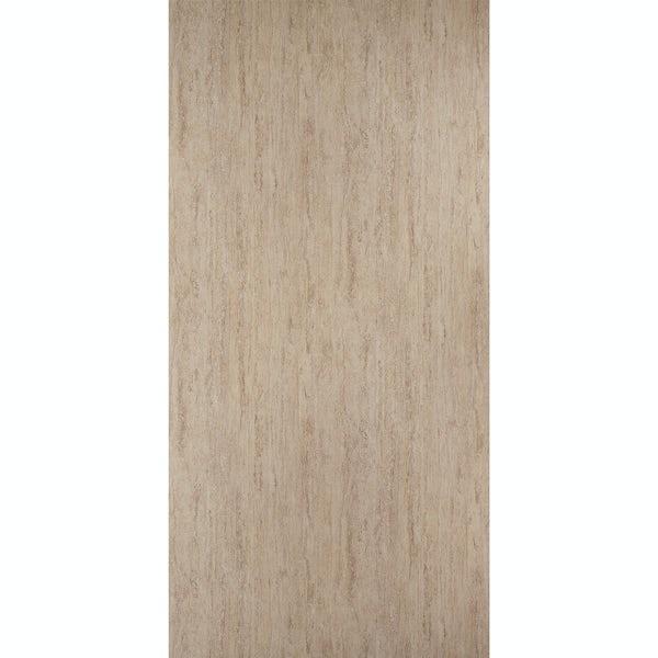 Showerwall Travertine Gloss waterproof proclick shower wall panel