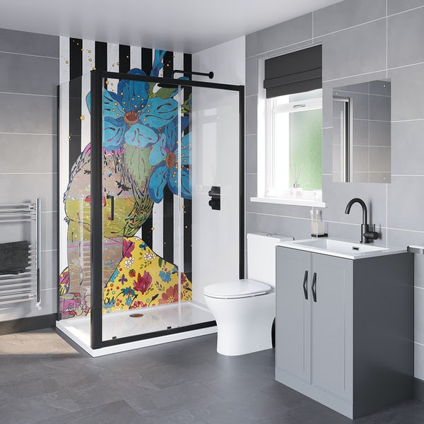 Louise Dear And I Think Of You shower enclosure suite 1200 x 800mm