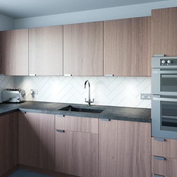 Schön C spout WRAS kitchen tap