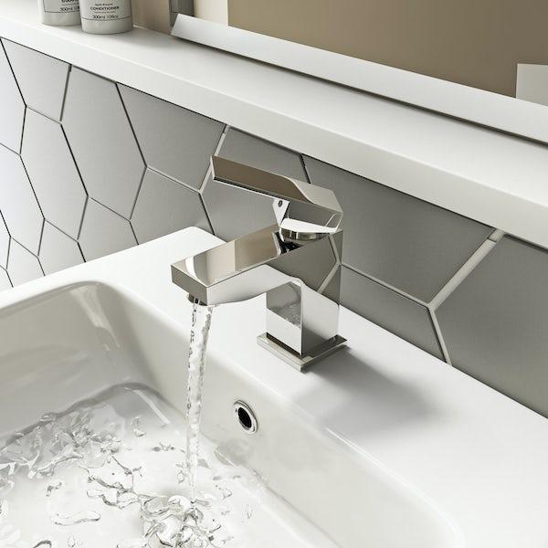 Kirke WRAS Cubic basin mixer tap
