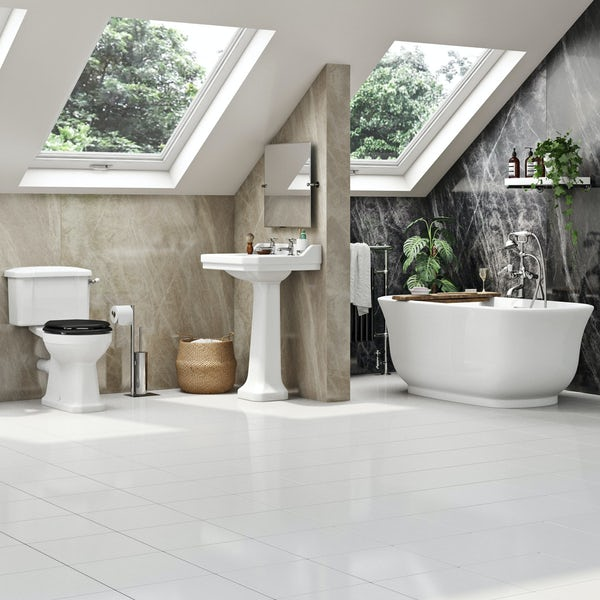 The Bath Co.Camberleycomplete freestanding bath suite 1500 x 720