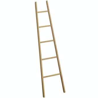 Mode South Bank natural wood towel ladder 1827 x 490mm