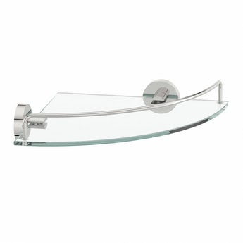 Orchard Matrix glass corner shelf