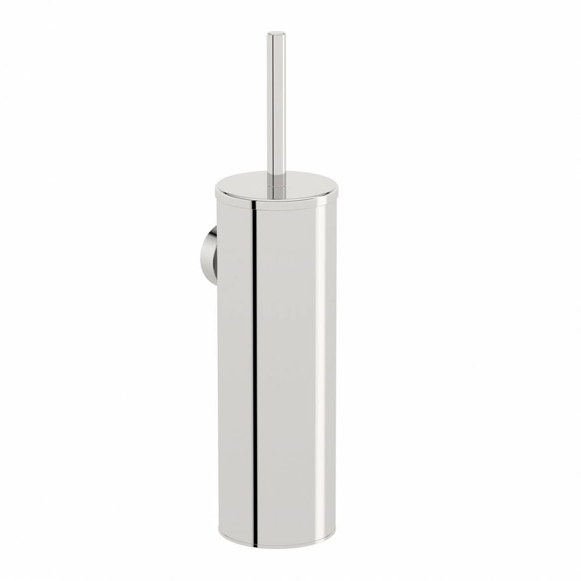 Options Wall Mounted Stainless Steel Toilet Brush Holder