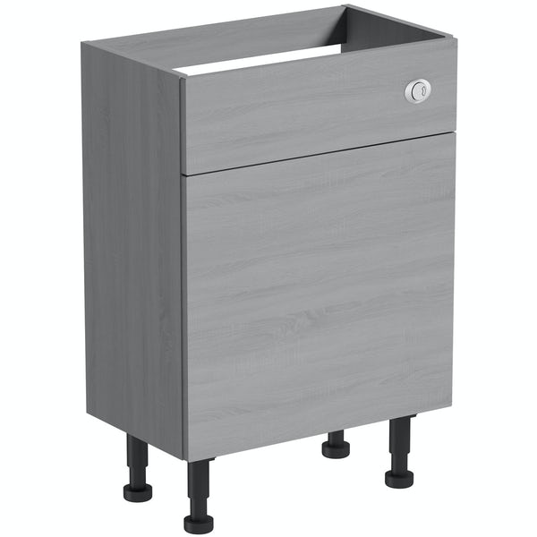 The Bath Co. Newbury dusk grey BTW unit 600mm