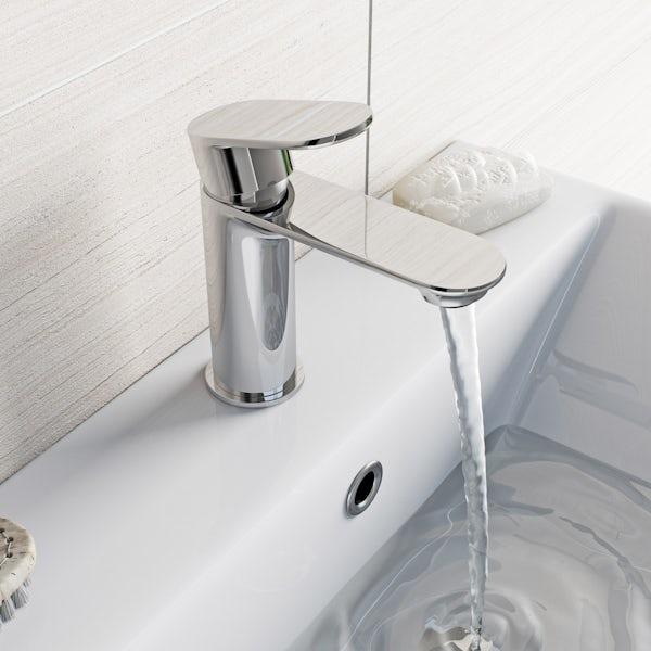 Orchard Wharfe basin mixer tap