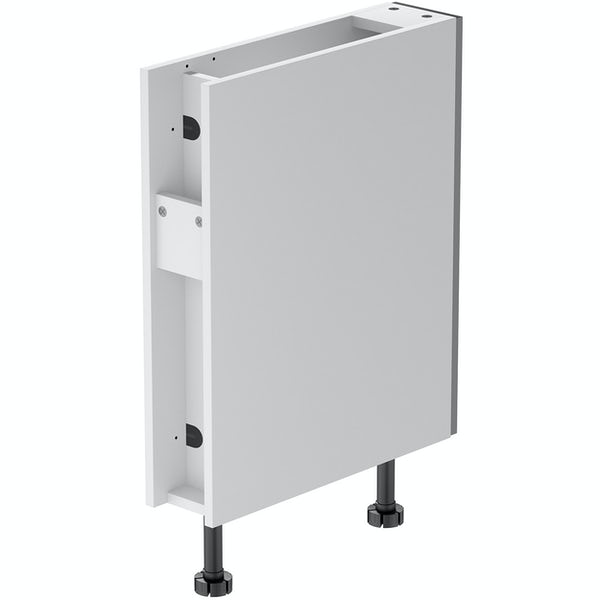 Schon Boston mid grey 150mm pull out base unit