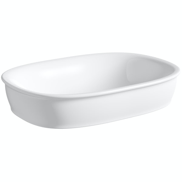 The Bath Co. Beaumont countertop basin 520mm with waste