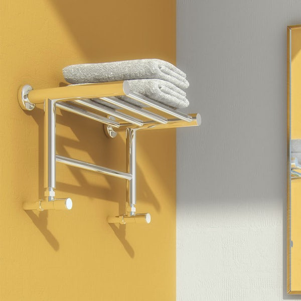 Reina Troisi stainless steel designer towel rail 294 x 532