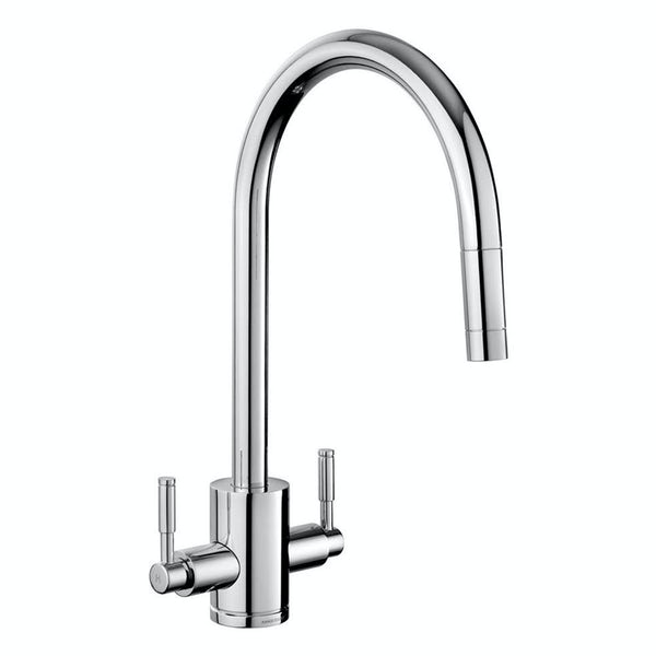Rangemaster Aquatrend brushed kitchen tap