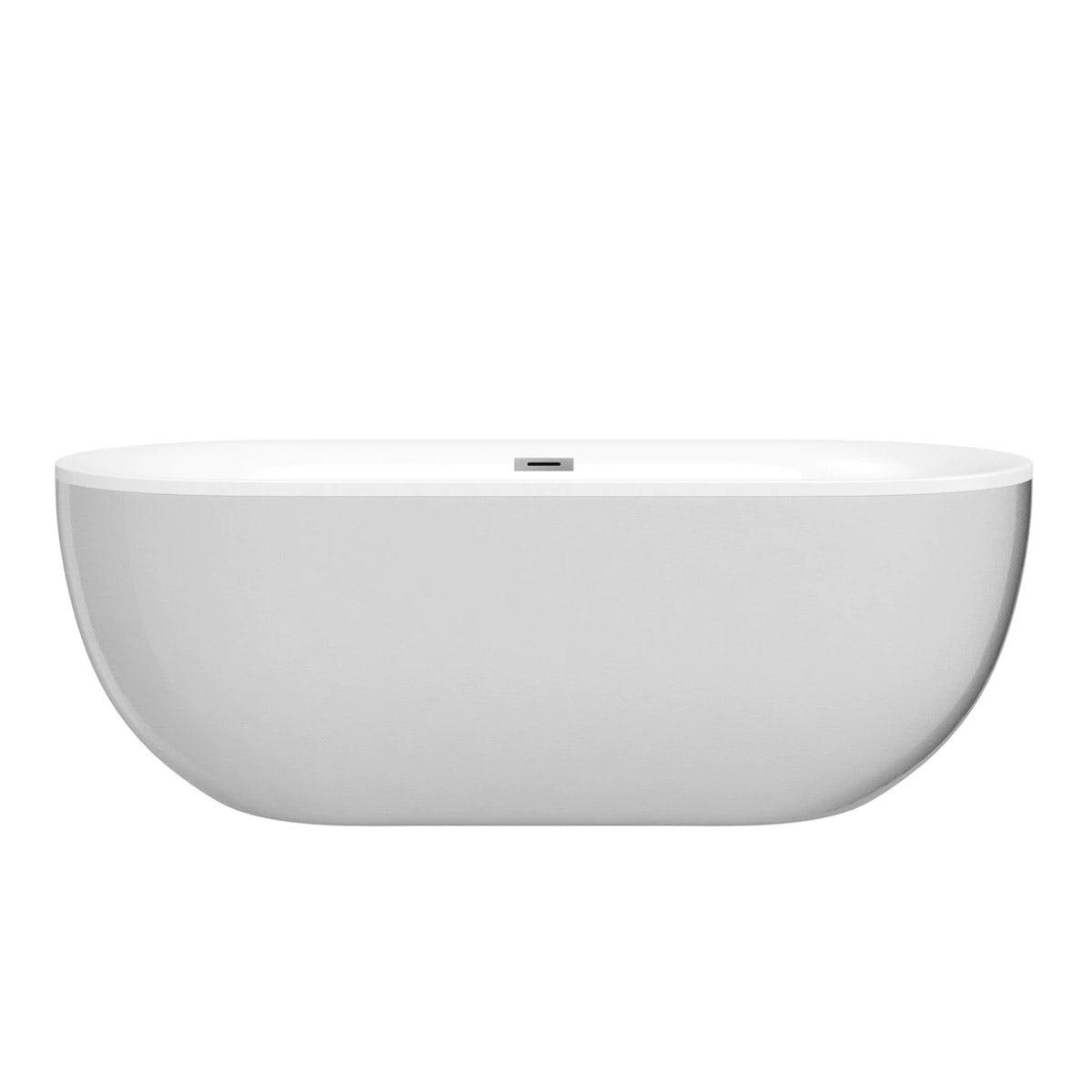Mode Ellis pearl coloured freestanding bath