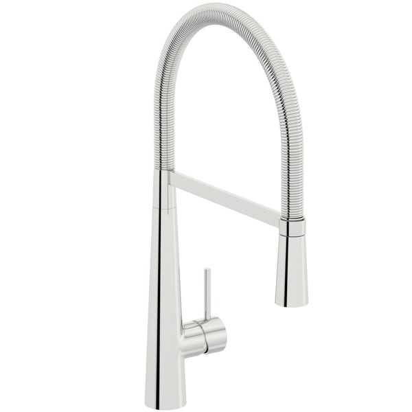 Schön Bute pull down kitchen mixer tap
