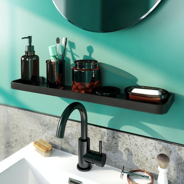 Accents vintage glass soap dish