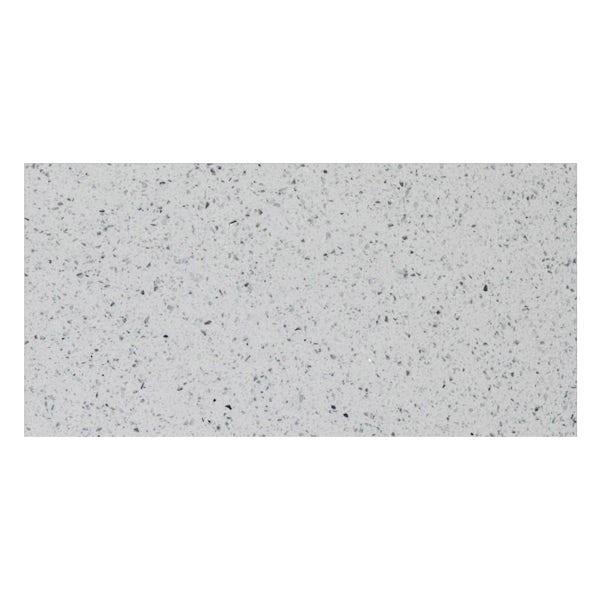 Galaxy white quartz wall and floor tile 300mm x 600mm