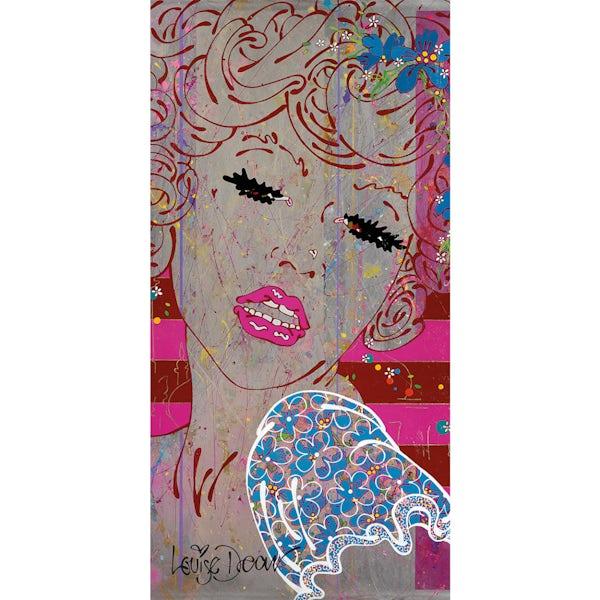 Louise Dear Brighton Belle acrylic shower wall panel 2400 x 1220mm