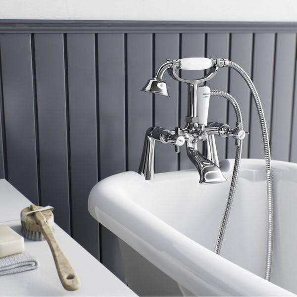 The Bath Co. Dulwich bath shower mixer tap