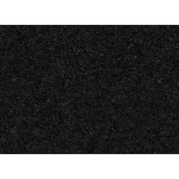 Bushboard Options Nero granite high gloss midway splashback 3000 x 600